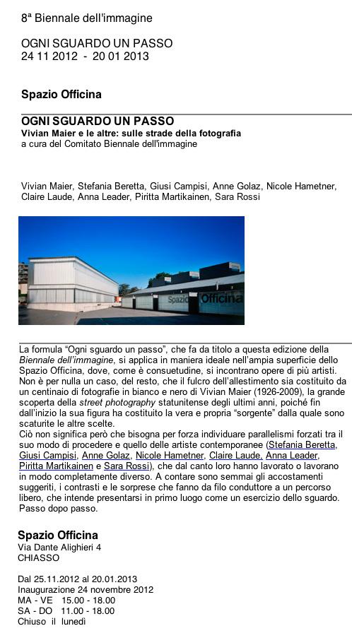 8 biennale dell'immagine