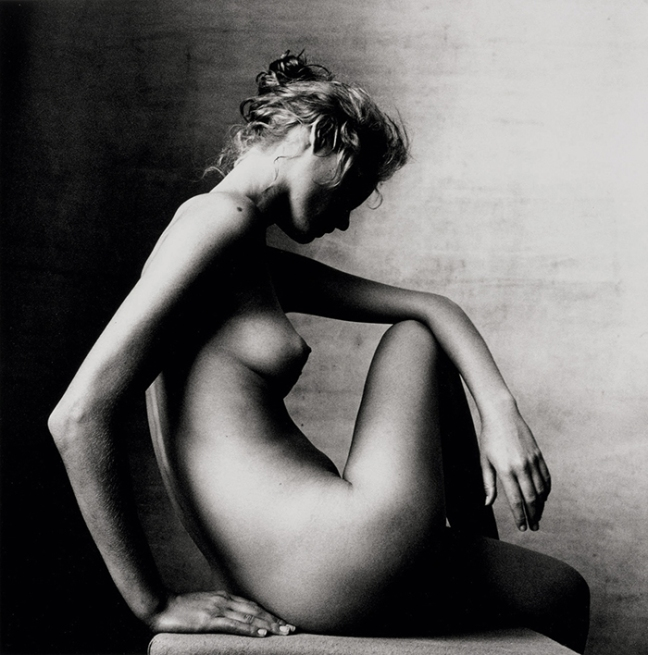Irving Penn, Amber valletta, New York, 1996 - © Images are copyright of their respective owners, assignees or others