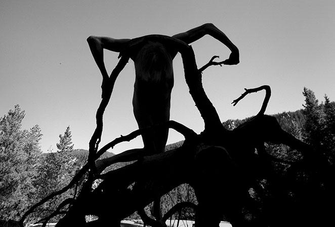 Arno Rafael Minkkinen, Independence Pass, Colorado, 2012 - Copyright Arno Rafael Minkkinen