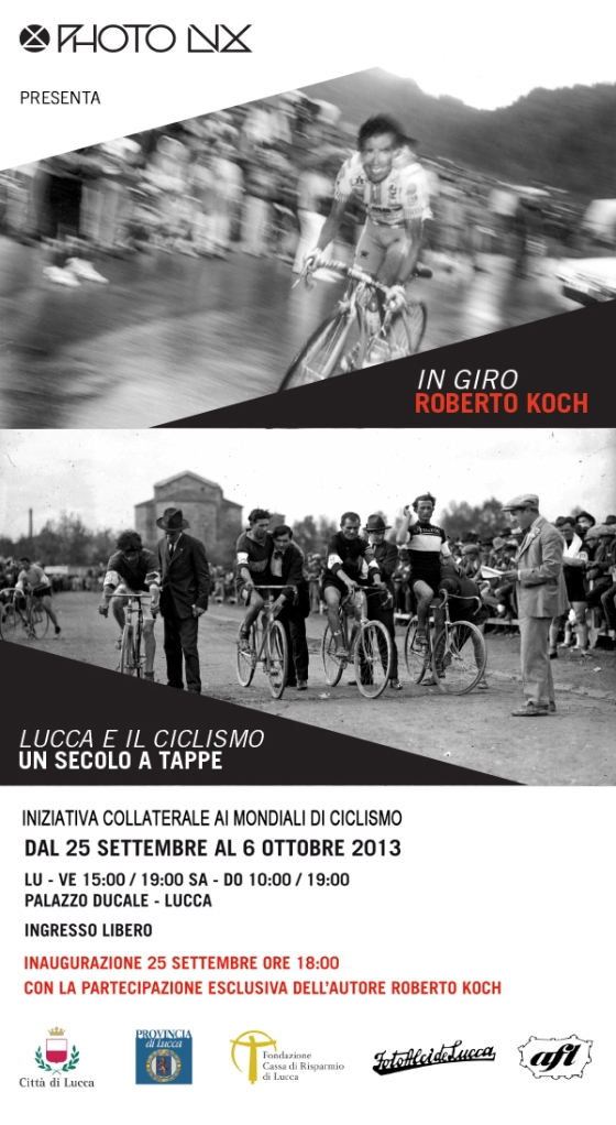Invito mostre ciclismo via Web
