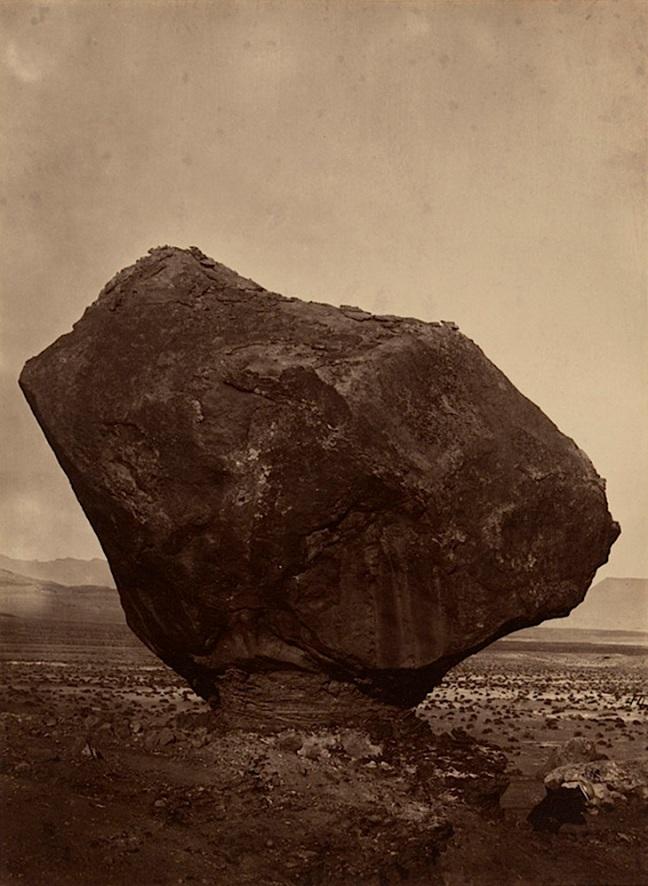 William H. Bell (1830-1910)  Percher Rock, Rocker Creek, Arizona, 1872