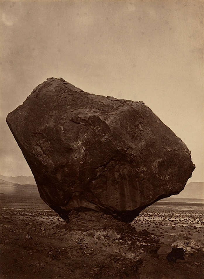 William H. Bell (1830-1910)  Percher Rock, Rocker Creek, Arizona, 1872