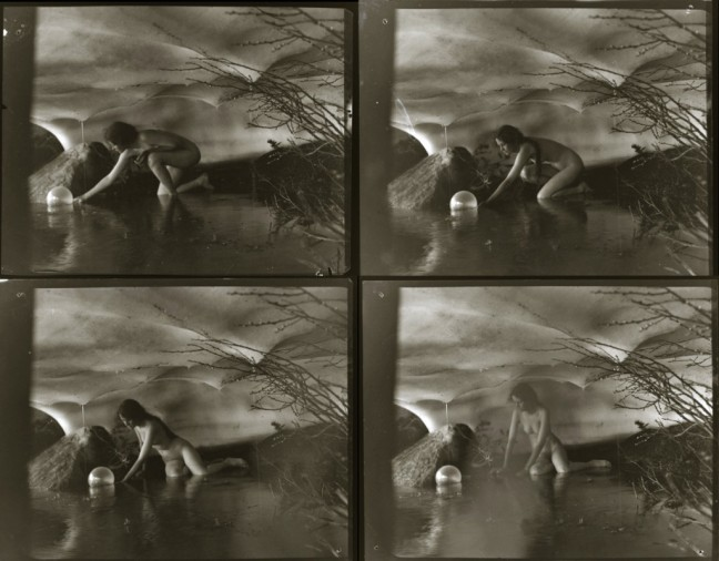 "Anne Brigman - Studies for ""The Bubble"", 1905 - © Image is copyright of their respective owners, assignees or others"