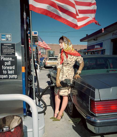 Martin Parr - USA. New York. Fashion shoot for Amica. 1999.  © Martin Parr / Magnum Photos