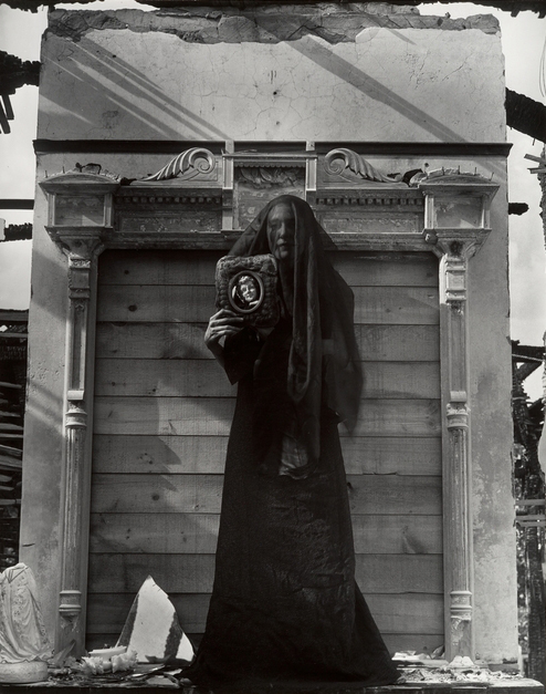Clarence John Laughlin - The Unborn,1941 - © Image copyright of their respective owners, assignees or others