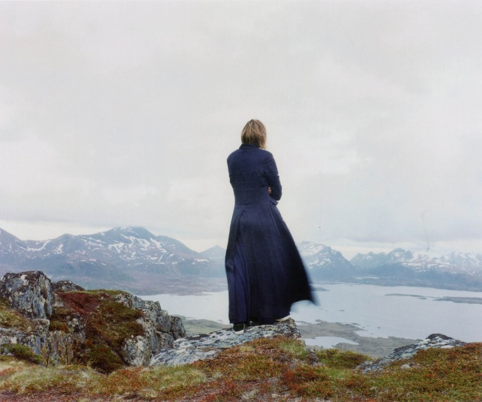 Elina Brotherus - Der Wanderer 2, from the series