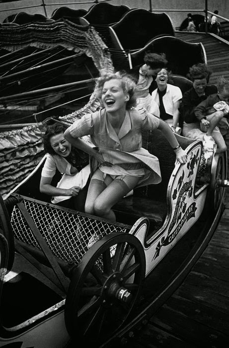 Kurt Hutton - Two at the Fair, Southend on Sea, Essex, UK, 1938