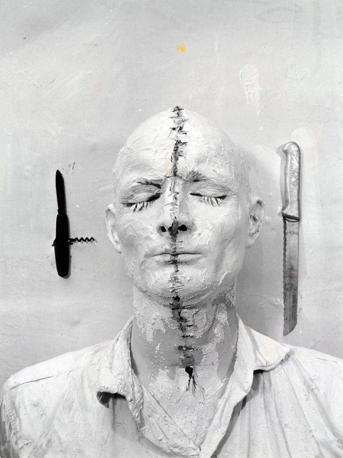 Gunter Brus, Self Painting, 1964 - © Gunter Brus
