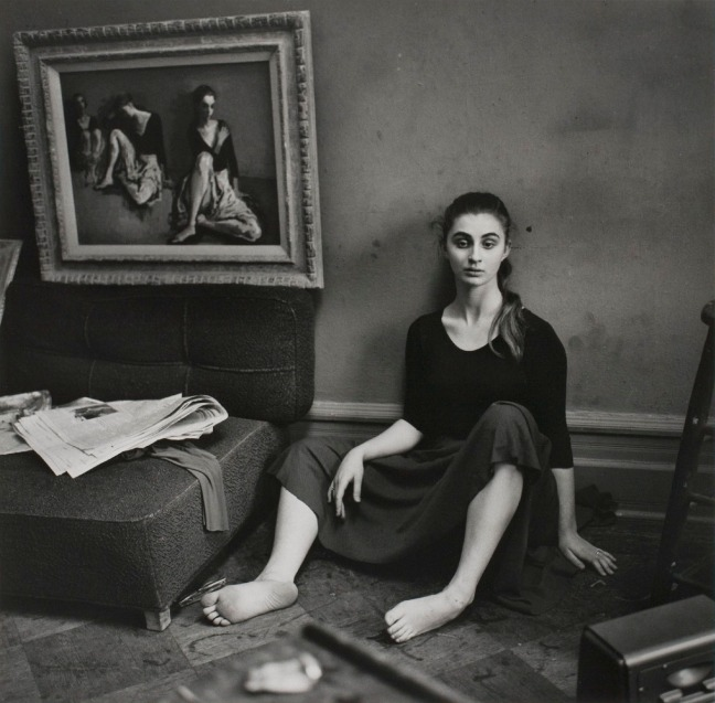 Larry Fink - Moses Soyer Studio, New York, 1960 - © Larry Fink
