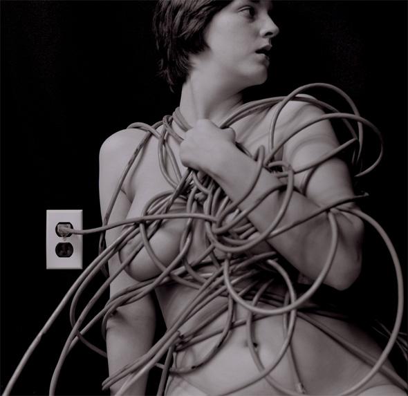 Charlie Schreiner -Body Electric, Female Nude, 2004/2005 - © Charlie Schreiner