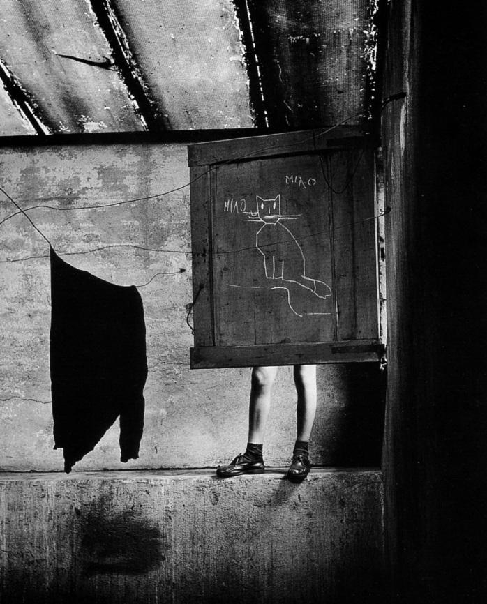 Paolo Monti - Soffitta, 1950(?) - Fotografia di Paolo Monti ©
