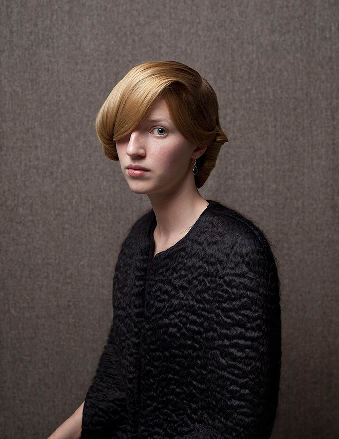 "Katrien Franken - Nadja, from the series ""Les Filles"" - © Katrien Franken"