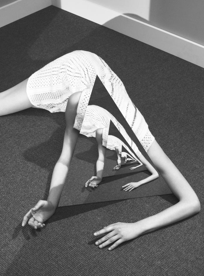 Noé Sendas: Wallpaper Girl (Louis Vuitton), 2015 - © Noé Sendas
