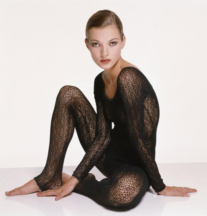Terry O'Neill - For Vogue, Kate Moss, 1993 _ © Terry O'Neill