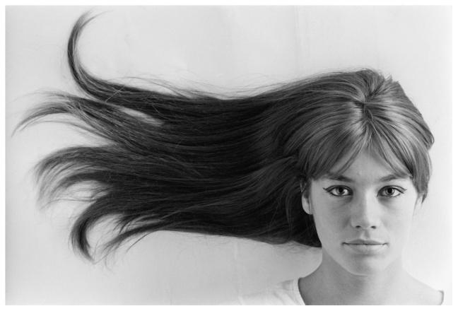 Jean-Marie Perier, Françoise Hardy, 1965 - © Jean-Marie Perier