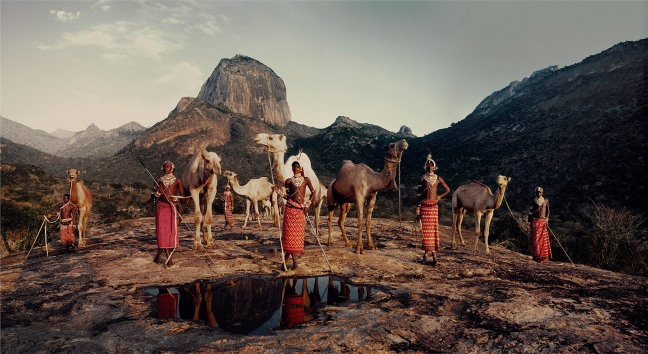 """Jimmy Nelson, from the series """"Before they Pass Away"""", Ndoto Mountain Ranges, Northern Kenya,   2010 - © Jimmy Nelson"""