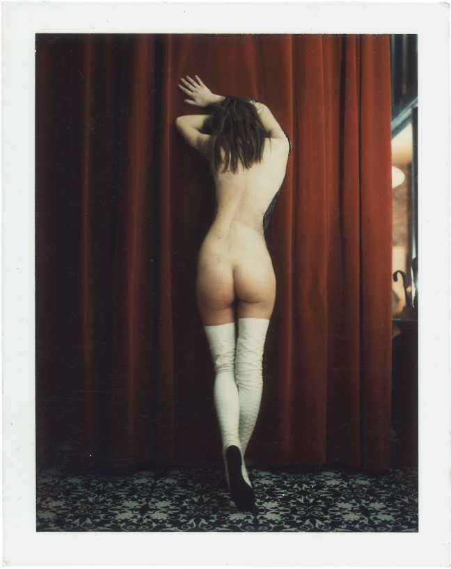 Carlo Mollino, Untitled, Polaroid, c.1962/ 1973 - © Image is copyright of the respective owners, assignees or others