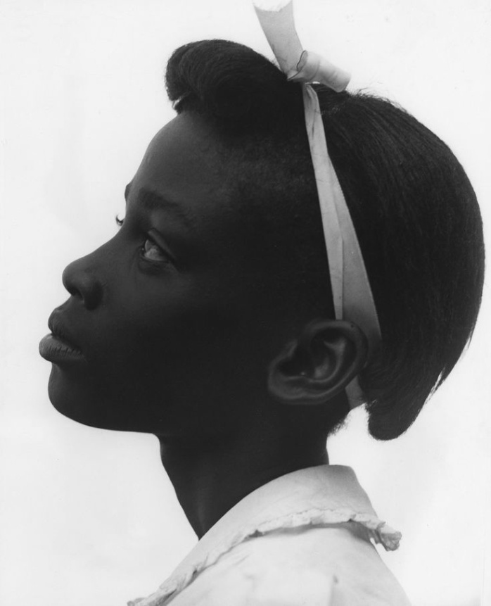 Consuelo Kanaga, portrait  of African-American girl, ca. 1940s - © Image copyright of the respective owners, assignees or others