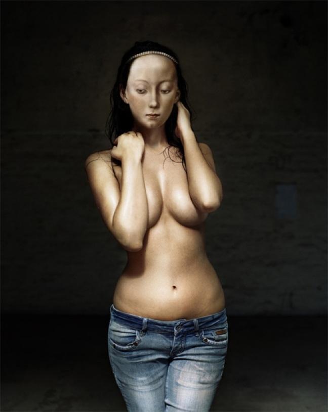 Dorothee Golz, Jeans Madonna, 2007 - © Dorothee Golz