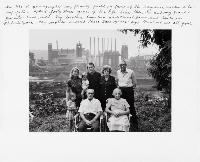 Duane Michals, From the series I Remember Pittsburgh, 1982 - © Duane Michals