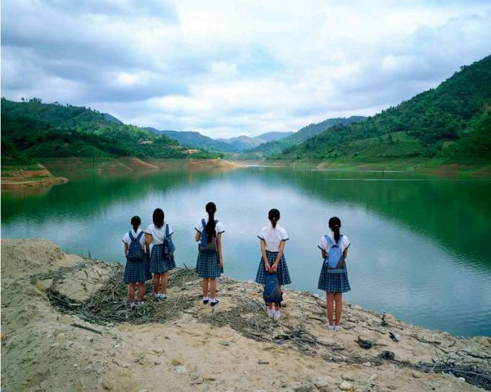Fen Weng, Watching the Lake - © Fen Weng