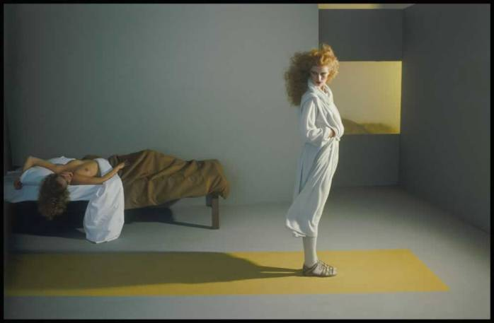 Gian Paolo Barbieri, Hommage à Hopper, Gianni Versace, 1978 - © Gian Paolo Barbieri