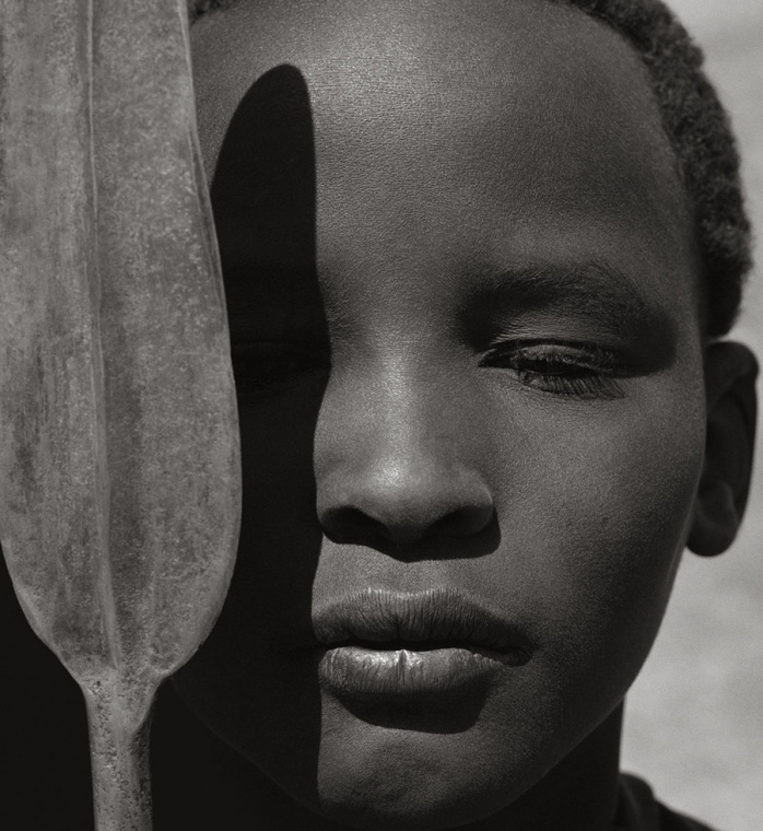 Herb Ritts, Loriki with Spear, Africa 1993 - ©Image is copyright of the respective owners, assignees or others