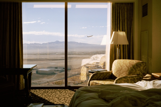 Kate Peters - Plane, Las Vegas, Stranger Than Fiction - © Kate Peters