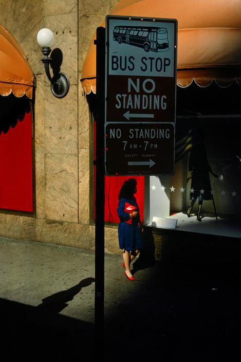 Harry Gruyaert, New York city, Street scene, 1985 - © Harry Gruyaert/Magnum Photos