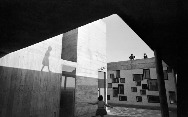 Lucien Hervé, Unité d'habitation à Nantes-Rezé, Le Corbusier, 1952-1954 - © Lucien Hervé