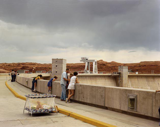 Joel Sternfeld, Glen Canyon Dam, Page, Arizona, 1983 -  © Joel Sternefeld