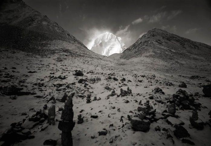 Kenro Izu, Kailash #75, Tibet, 2000 - © Kenro Izu