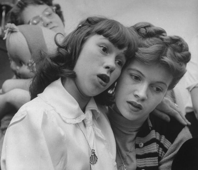 Lisa Larsen, U.S. Post-war teenagers, 1948 - © Lisa Larsen