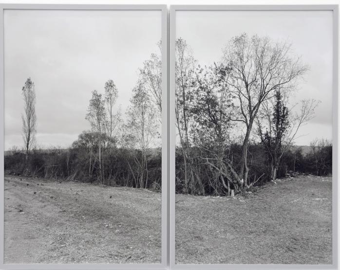 Lukas Hoff mann, Sain-Amand-Montrond, 2012, Diptych, two gelatin silver prints - © Lukas Hoffmann