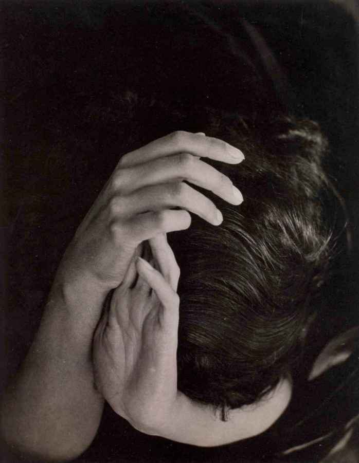 Wolfgang Wols, Head in hands, 1935 - © Image is copyright of they respective owners, assignees or others