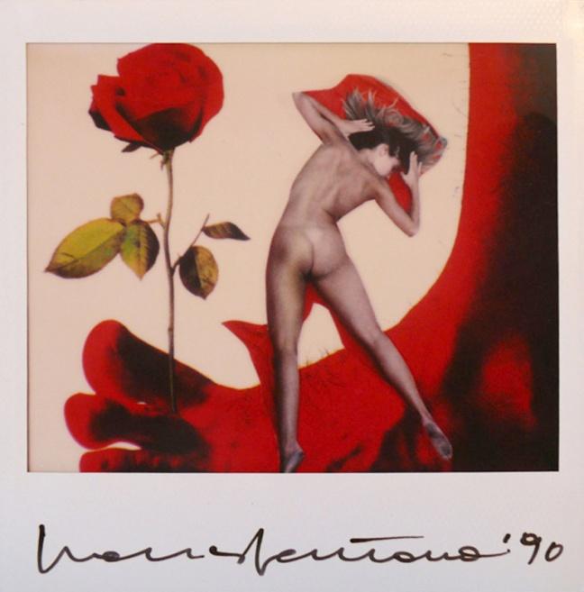 Franco Fontana, Nudo, 1990, Polaroid 10x10 - © Franco Fontana