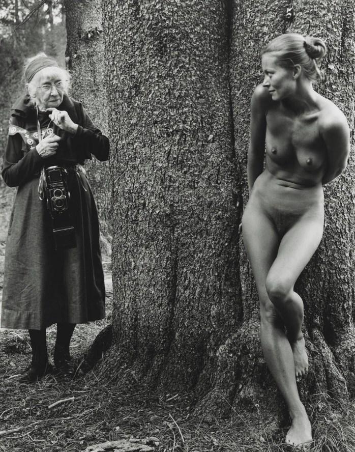 Judy Dater, 'Imogen and Twinka at Yosemite' 1974 - © Judy Dater