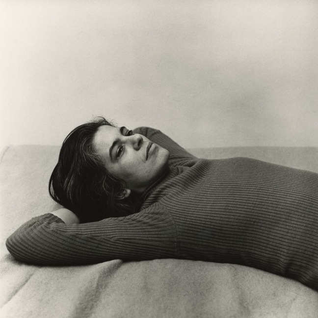 Peter Hujar, Susan Sontag - 1975 - copyright The Peter Hujar Archive