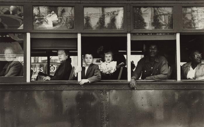 Robert Frank, New Orleans Trolley, 1955 - © Robert Frank