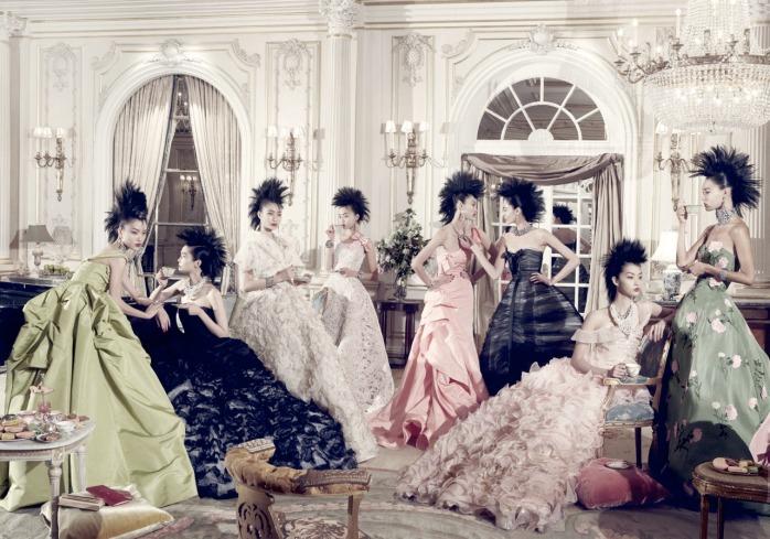 Steven Meisel, Asia Major, 2010 -  Models: Du Juan, Tao - © Steven Meisel