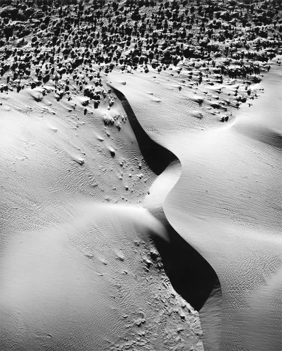 William Garnett, Sand Dune #1, Palm Desert, CA, 1975 - © Image is copyright of the respective owners, assignees or others