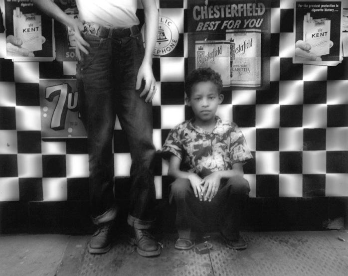 William Klein's Candy Store, New York, 1955