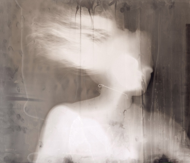 Ruth Maddison Self-portrait #2 2004 From the series Light touches