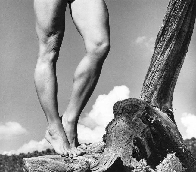 Allen A. Dutton, Karen's Legs, 1990. © Allen A. Dutton